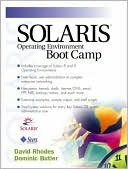 David Rhodes: Solaris Operating Environment Boot Camp