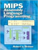 Robert Britton: MIPS Assembly Language Programming