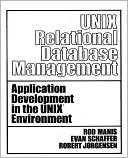 Rod Manis: UNIX Relational Database Management