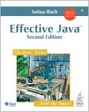Joshua Bloch: Effective Java (Java Series)