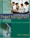 Timothy Kloppenborg: Contemporary Project Management (with Microsoft Project CD-ROMs and Student CD-ROM)