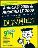 Lee Ambrosius: AutoCAD 2009 & AutoCAD LT 2009: All-in-One Desk Reference For Dummies