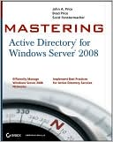 John A. Price: Mastering Active Directory for Windows Server 2008