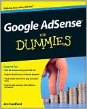 Jerri Ledford: Google AdSense for Dummies