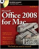 Sherry Kinkoph Gunter: Microsoft Office 2008 for Mac Bible