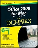 Geetesh Bajaj: Office 2008 for Mac All-in-One For Dummies