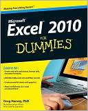 Greg Harvey: Excel 2010 For Dummies