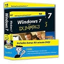 Andy Rathbone: Windows 7 For Dummies Book + DVD Bundle