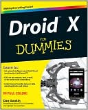 Dan Gookin: Droid X For Dummies