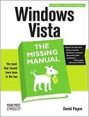 David Pogue: Windows Vista: The Missing Manual