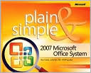 Jerry Joyce: 2007 Microsoft Office System Plain & Simple