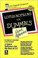 Stephen Londergan: Lotus Notes R5 for Dummies Quick Reference