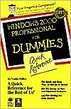 Valda Hilley: Windows 2000 Professional For Dummies: Quick Reference