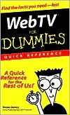 Renee Gentry: Web TV for Dummies Quick Reference