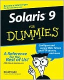 David Taylor: Solaris 9 For Dummies
