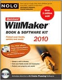 Nolo Press Editors: Quicken Willmaker Book and Software Kit 2010 Edition (Includes Estate Planning Essentials)