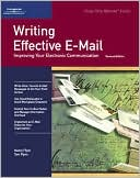 Nancy Flynn: Crisp: Writing Effective E-Mail, Revised Edition: Improving Your Electronic